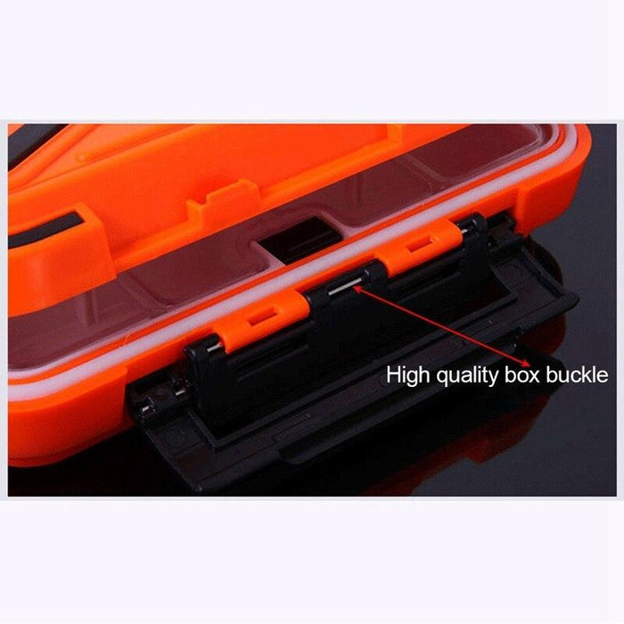 Abzb 16 Waterproof Fishing Box Hook Accessories Box Fishing Tackle Fishing-Home-Keep entertaining Store-Orange-Bargain Bait Box