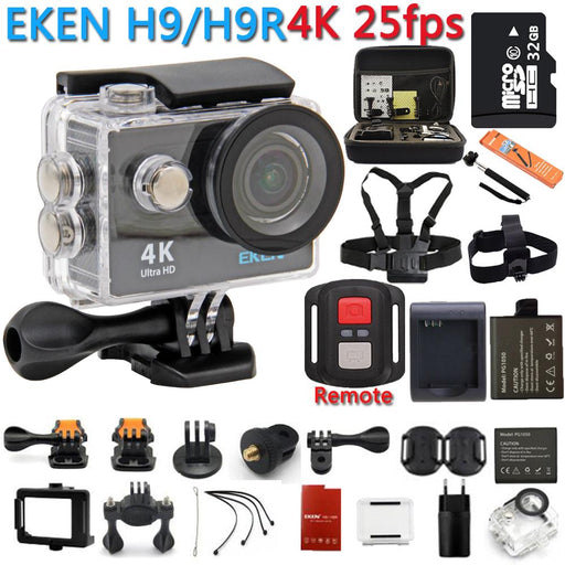 Action Camera 100% Original Eken H9R / H9 4K Wifi Action Sport Camera-Underwater Cameras-Bargain Bait Box-H9R Gold-Stardard-Bargain Bait Box
