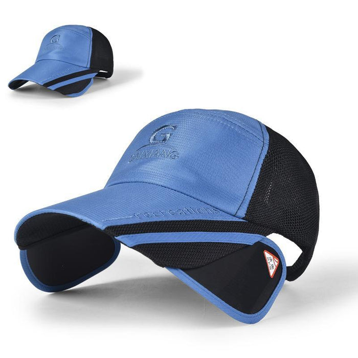 7b6be329897 Adjustable Fishing Caps Outdoor Sports Men S Fishing Hats Travel Mountain-MoeTron  Store-Navy-