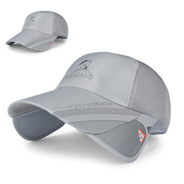 81746ae12a9 Adjustable Fishing Caps Sports Men S Fishing Hats Climbing Hunting Sunshade  Caps-Hats-Bargain Bait