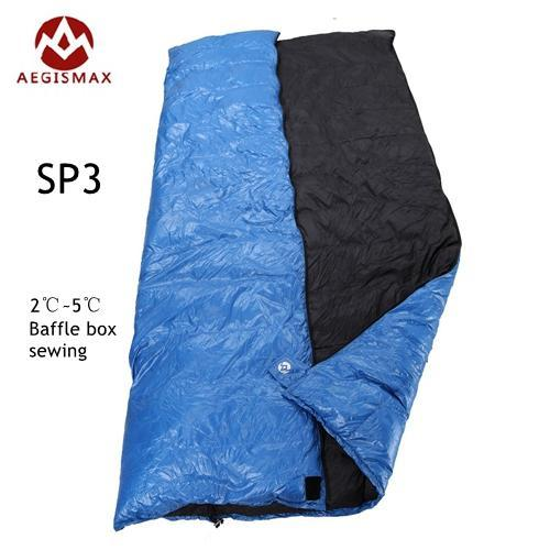 cheaper 6c2d7 3f632 Aegismax Outdoor Envelope Sleeping Bag Splicing White Duck Down Single