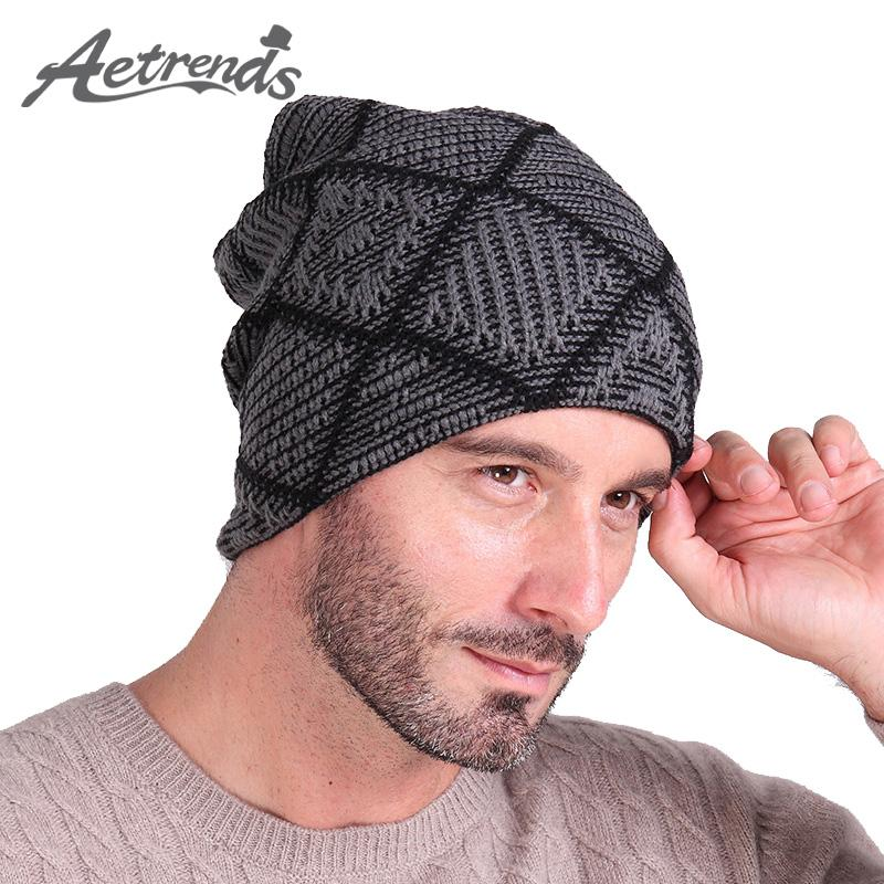 [Aetrends] Hats Men Hat Beanies Skullies With Velvet Inside Z-2019-Beanies-Bargain Bait Box-Color No 1-Bargain Bait Box