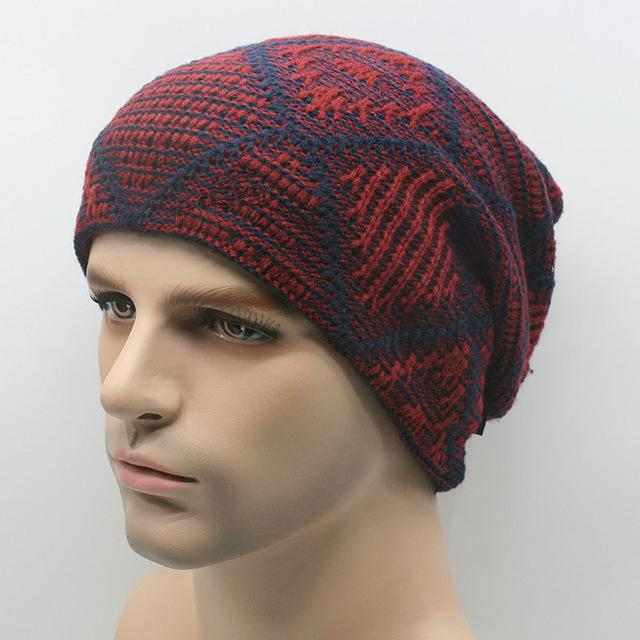 [Aetrends] Hats Men Hat Beanies Skullies With Velvet Inside Z-2019-Beanies-Bargain Bait Box-Color No 4-Bargain Bait Box