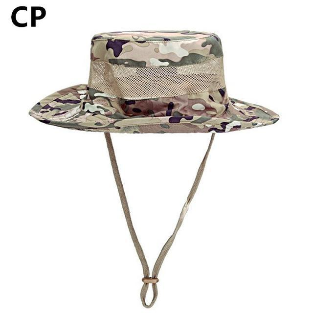 Airsoft Sniper Camo Boonie Hats, Tactical Nepalese Cap, Military Mens Fishing-Hats-Bargain Bait Box-CP-Bargain Bait Box