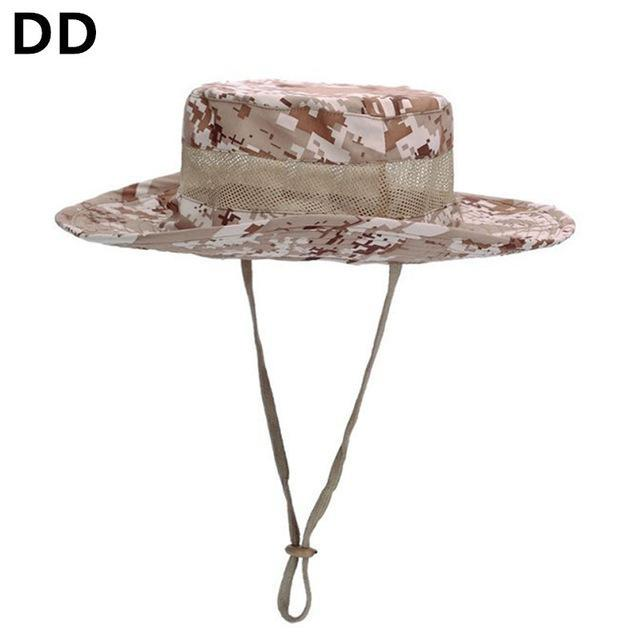 Airsoft Sniper Camo Boonie Hats, Tactical Nepalese Cap, Military Mens Fishing-Hats-Bargain Bait Box-DD-Bargain Bait Box