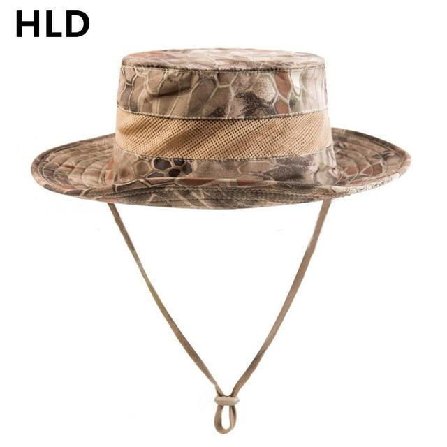 Airsoft Sniper Camo Boonie Hats, Tactical Nepalese Cap, Military Mens Fishing-Hats-Bargain Bait Box-HLD-Bargain Bait Box