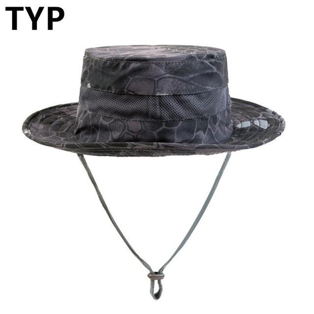 Airsoft Sniper Camo Boonie Hats, Tactical Nepalese Cap, Military Mens Fishing-Hats-Bargain Bait Box-TYP-Bargain Bait Box