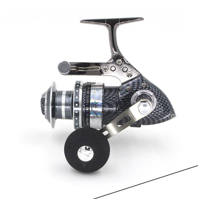 All - Metal Fishing Vessel 5.2:1 5+2 Ball Bearing 4000Series Front Drag-Spinning Reels-Sports fishing products-Bargain Bait Box