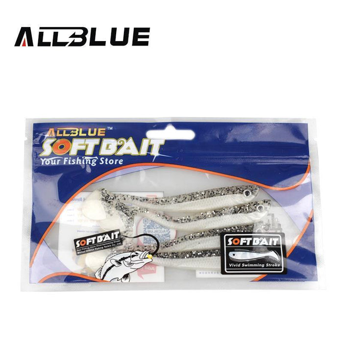 Allblue 4Pcs/Lot 6G/11Cm Handmade Soft Bait Fish Fishing Lure Shad Manual-allblue Official Store-HMT4A-Bargain Bait Box