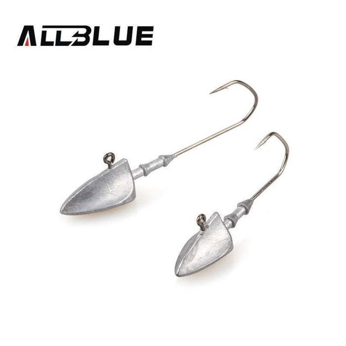 Allblue Exposed Lead Swinbait Jig Head 3.5G 5G 7G 10G 14G Barbed Hook 6Pcs/Lot-allblue Official Store-3g 6pcs-Bargain Bait Box