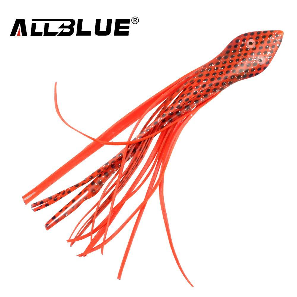 Allblue Fishing Lure Soft Squid Skirts Snake Octopus Jigging Bait 15.8Cm-allblue Official Store-A-Bargain Bait Box
