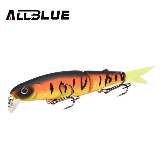 Allblue Good Quality Professional Suspend Minnow Fishing Lure 90Mm 7.7G Swim-allblue Official Store-Color B-Bargain Bait Box