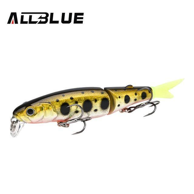 Allblue Good Quality Professional Suspend Minnow Fishing Lure 90Mm 7.7G Swim-allblue Official Store-Color C-Bargain Bait Box