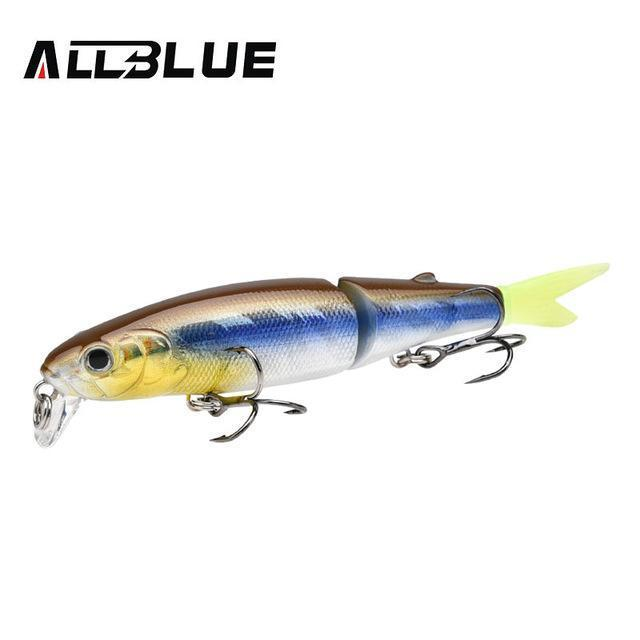 Allblue Good Quality Professional Suspend Minnow Fishing Lure 90Mm 7.7G Swim-allblue Official Store-Color D-Bargain Bait Box