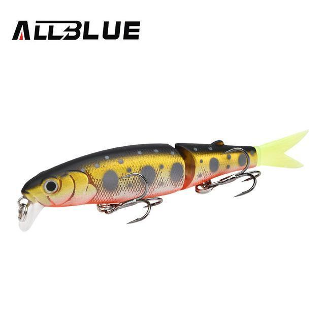 Allblue Good Quality Professional Suspend Minnow Fishing Lure 90Mm 7.7G Swim-allblue Official Store-Color E-Bargain Bait Box