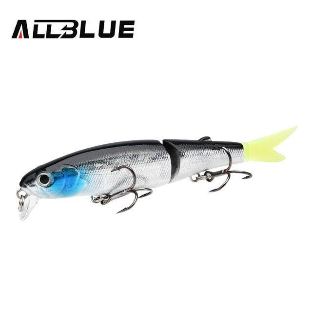 Allblue Good Quality Professional Suspend Minnow Fishing Lure 90Mm 7.7G Swim-allblue Official Store-Color F-Bargain Bait Box