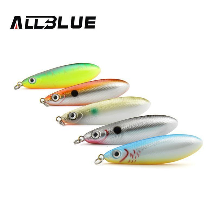 Allblue Spoon Lure Minnow 8.5Cm/15.5G Saltwater Anti-Hitch Crankbait Snapper-allblue Official Store-A-Bargain Bait Box
