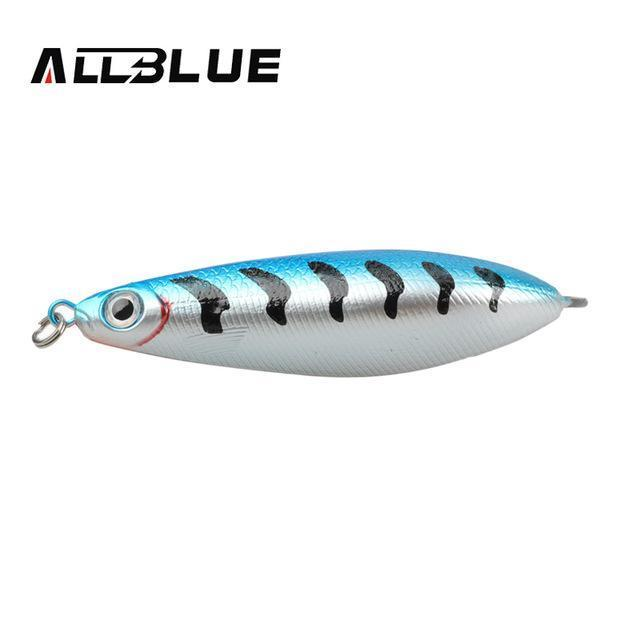 Allblue Spoon Lure Minnow 8.5Cm/15.5G Saltwater Anti-Hitch Crankbait Snapper-allblue Official Store-B-Bargain Bait Box