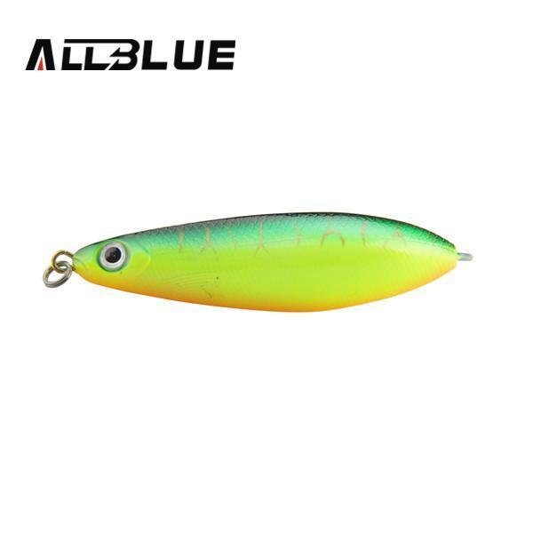 Allblue Spoon Lure Minnow 8.5Cm/15.5G Saltwater Anti-Hitch Crankbait Snapper-allblue Official Store-C-Bargain Bait Box