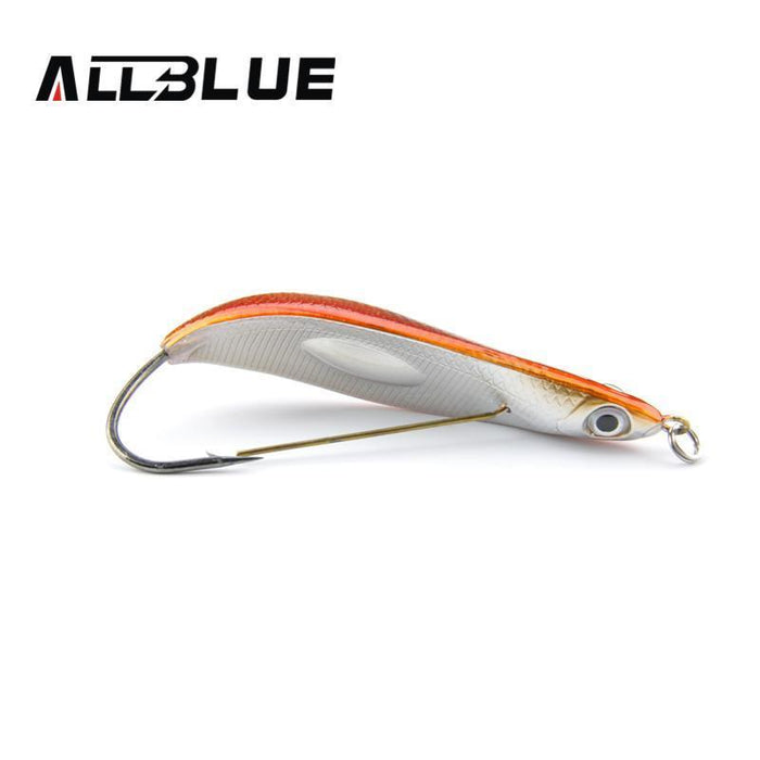 Allblue Spoon Minnow 8.5Cm/15.5G Saltwater Anti-Hitch Crankbait Snapper Hard-AllBLue Fishing-A-Bargain Bait Box