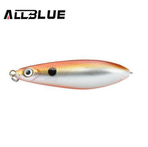 Allblue Spoon Minnow 8.5Cm/15.5G Saltwater Anti-Hitch Crankbait Snapper Hard-AllBLue Fishing-D-Bargain Bait Box