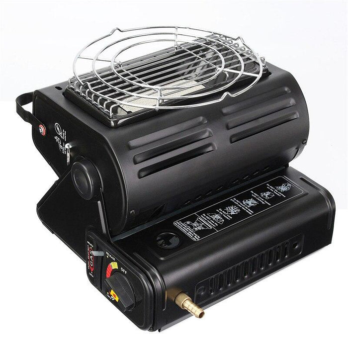 Aluminum Alloy Portable Outdoor Cooker Stove Camping Tent Portable Gas Heater-Outdoor Stoves-Chengxi Fitness Store-Bargain Bait Box