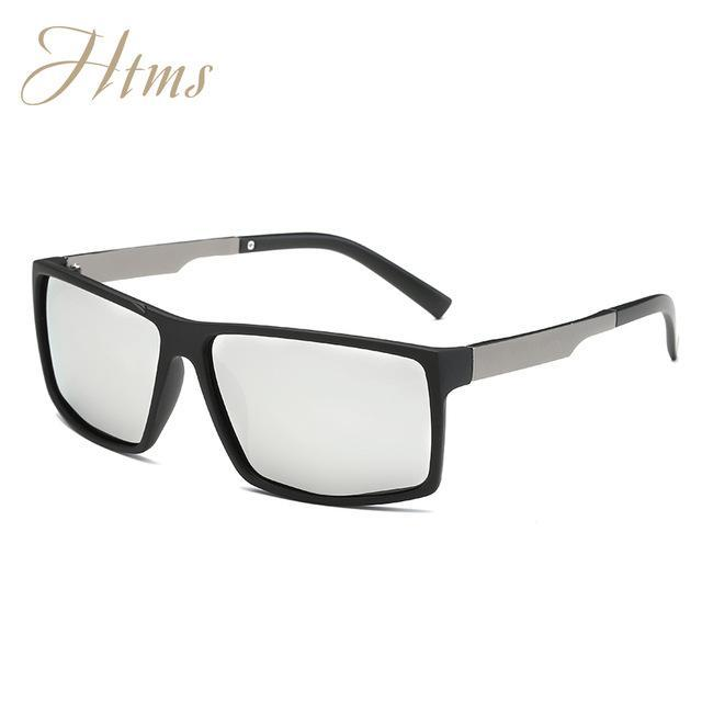 Aluminum Magnesium Polarized Aviation Sunglasses Men Male Driving Party Sun-Polarized Sunglasses-Bargain Bait Box-C05 MB Mercury-Packing A-Bargain Bait Box