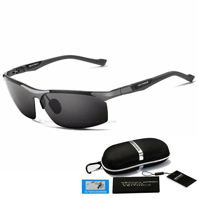 Aluminum Magnesium Sunglasses Polarized Men Coating Mirror Driving Sun Glasses-Polarized Sunglasses-Bargain Bait Box-Gray with B-Australia-as picture-Bargain Bait Box