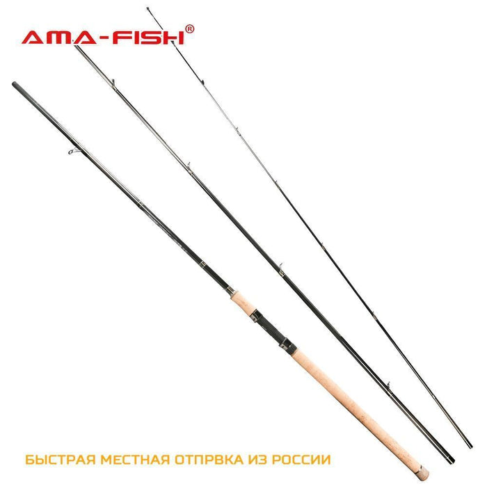 Ama-Fish Original Spinning Rod 3.9M Lure Rod 3 Sections Carbon Rods 5-25G-Spinning Rods-Target Sports-Bargain Bait Box