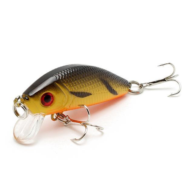 Amlucas Minnow Fishing Lure 50Mm 3.6G Topwater Hard Bait Japan Crankbait Carp-Amlucas Fishing Store-D-Bargain Bait Box
