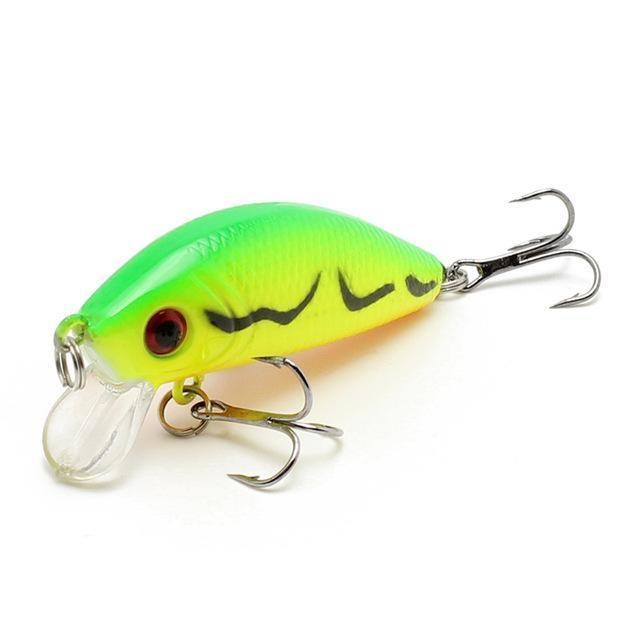 Amlucas Minnow Fishing Lure 50Mm 3.6G Topwater Hard Bait Japan Crankbait Carp-Amlucas Fishing Store-F-Bargain Bait Box