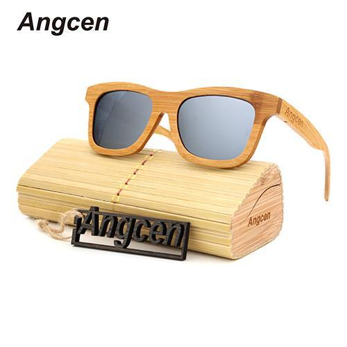 Angcen Sunglasses Women Sunglasses Men Oculos Glasses Ray Sunglass Reading-Polarized Sunglasses-Bargain Bait Box-Silver-Bargain Bait Box