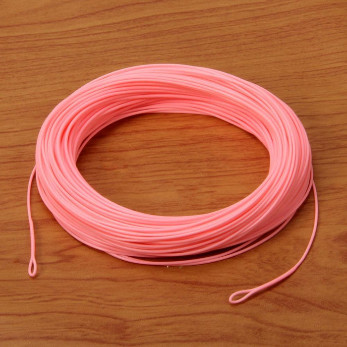 Angler Dream 100Ft Fly Line Wf1F/2F/3F/4F/5F/6F/7F/8F/9F Weight Forward Pink-Angler Dream Official Store-WF1F-Bargain Bait Box