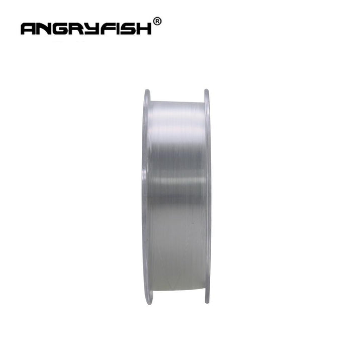 Angryfish 100% Fluorocarbon Fishing Line 100M Carbon Monofilament Transparent-Yile Fishing Tackle Co.,Ltd-0.6-Bargain Bait Box