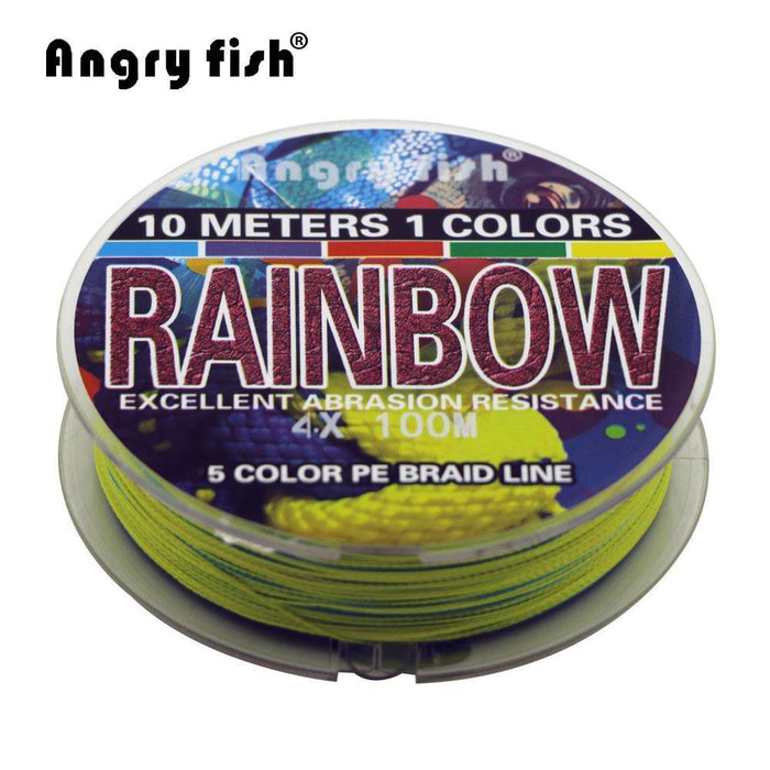 Angryfish 4 Strands 100M Pe Super Braided Fishing Line Huose Series 5-angryfish Store-0.4-Bargain Bait Box
