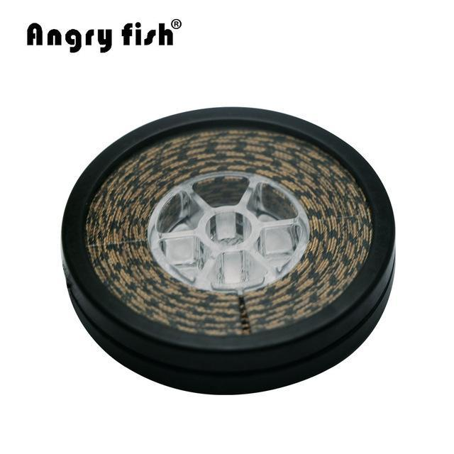 Angryfish Lead Core Carp Fishing Line 25Lbs 35Lbs 45Lbs 60Lbs 10Meters For-angryfish Store-Camou Brown-60LB-Bargain Bait Box