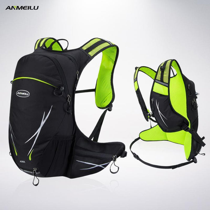 Anmeilu Sport Bag 18L Nylon Backpack Climbing Camping Fishing Rucksack Camelback-Backpacks-Bargain Bait Box-1032GN-Bargain Bait Box