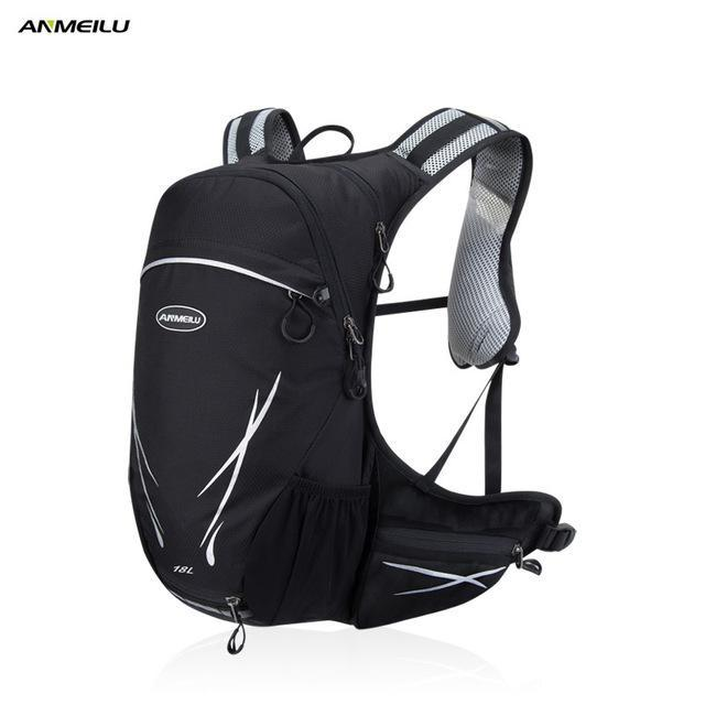 Anmeilu Sport Bag 18L Nylon Backpack Climbing Camping Fishing Rucksack Camelback-Backpacks-Bargain Bait Box-1032GY-Bargain Bait Box