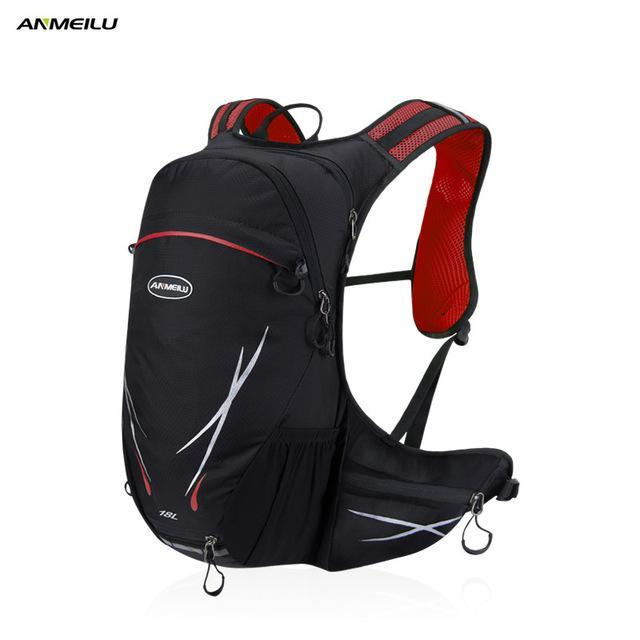 Anmeilu Sport Bag 18L Nylon Backpack Climbing Camping Fishing Rucksack Camelback-Backpacks-Bargain Bait Box-1032RD-Bargain Bait Box