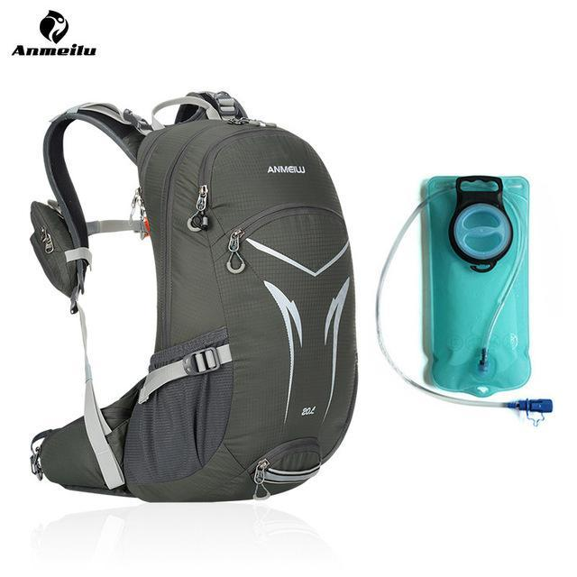 2633a17fbc50 Anmeilu Sports Water Bags Bladder Hydration Waterproof Backpack Camping  Climbing-Hydration Bags-Bargain Bait
