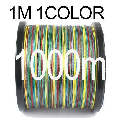Anmuka 300M 500M 1000M Braided Fishing Line 1 Meter 1 Color 8 Strands-Braided Lines-Garrete Store-1000M-1.0-Bargain Bait Box