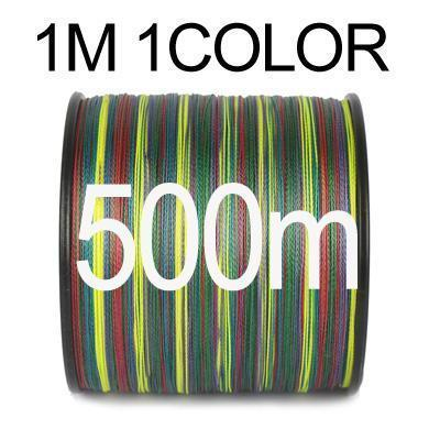 Anmuka 300M 500M 1000M Braided Fishing Line 1 Meter 1 Color 8 Strands-Braided Lines-Garrete Store-500M-1.0-Bargain Bait Box
