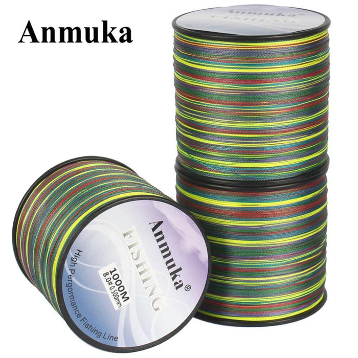 Anmuka Brand 300M 8 Strands Fishing Line Extreme Strong Braided Fishing Line-Anmuka Outdoor store-1.0-Bargain Bait Box
