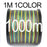Anmuka Fishing Line 100M 300M 500M 1000M Multicolor 1M 1 Color Mulifilament Pe-Anmuka Outdoor store-1000M-1.0-Bargain Bait Box