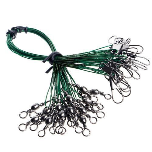 Anti-Bite Fishing Wires 20Pcs Fishing Tackle Wire Stainless Steel Anti-Bite-Movement & Outdoor Store-GN30-Bargain Bait Box