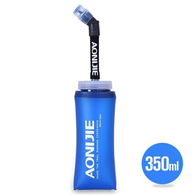 Aonijie Tpu Soft Water Flasks With Long Straw Running Sports Water Bottles-Water Bags-YOUGLE store-350ML-Bargain Bait Box