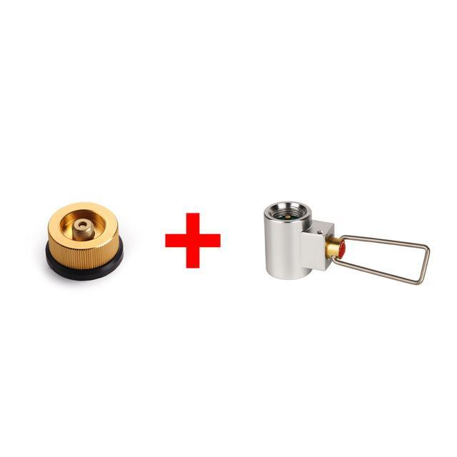 Apg Conversion Adapter Camping Gas Stove Adaptor Valve Canister Gas Convertor-APG Official Store-get two-Bargain Bait Box