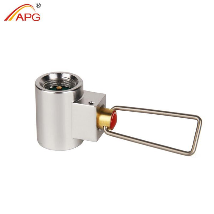 Apg Conversion Adapter Camping Gas Stove Adaptor Valve Canister Gas Convertor-APG Official Store-only one-Bargain Bait Box