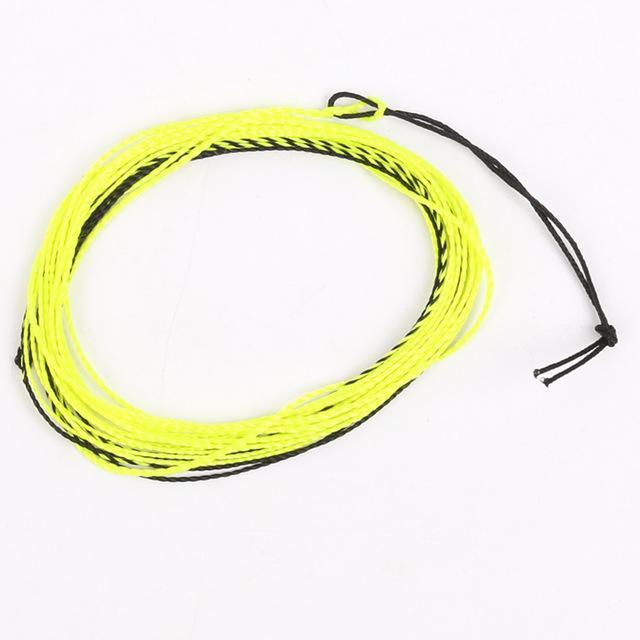 Arrival 12Ft 17Lb Tenkara Fly Line Braided Fly Line Tenkara Line Furled Leader-MaxCatch Outdoor-Yellow-Bargain Bait Box