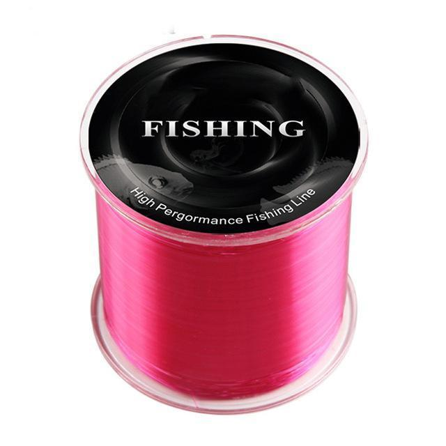 Arrival 500M 100% Nylon Fishing Line Super Strong Level Pe Line Main-GLS Fishing gear Store-red-0.4-Bargain Bait Box